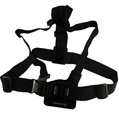tanie Kamery sportowe i akcesoria GoPro-Pasek na klatkę piersiową Na ramiączkach 3D Dla Action Camera GGopro 5/4/3/3+/2/1 SJ4000 Univerzál Stop aluminium - 1