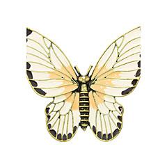 nye kommer emalje sommerfugl form brosjer