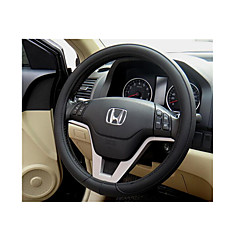 Super de fibras de couro de sucção suor automóvel permeável cobertura de volante