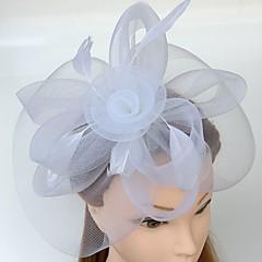 羽毛ネットヘッドバンド魅惑のヘッドピース古典的な女性的なスタイル
