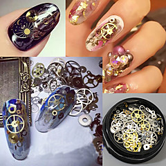 120 Manucure Dé oration strass Perles Maquillage cosmétique Nail Art Design