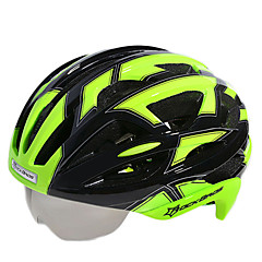 Berg / Weg / Sporten-Fietsen / Bergracen / Wegwielrennen / Recreatiewielrennen-Helm(Wit / Rood / Roze / Zwart / Blauw / Zilver,EPS) - voor
