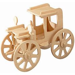 ieftine -Puzzle Lemn Μοντέλα και κιτ δόμησης Mașină de epocă nivel profesional De lemn 1pcs Pentru copii Băieți Cadou