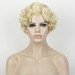 cheap Wigs & Hair Pieces-Synthetic Wig Curly Synthetic Hair Wig Women's Short Capless