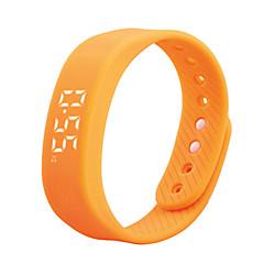 tanie Inteligentne zegarki-Inteligentne Bransoletka T5 na Microsoft Windows Spalonych kalorii / Długi czas czuwania / Wodoszczelny / Wodoodporny / Śledzenie Odległość / Krokomierze / > 480 / Sport