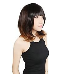 cheap Wigs & Hair Pieces-Dark Auburn Light Blonde Platinum Blonde Dark Wine Medium Brown Bangs Fringe 0.025kg Synthetic Hair Hair Piece Hair Extension