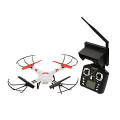 billige Fjernstyrte quadcoptere og multirotorer-RC Drone WLtoys V686G 4 Kanaler 6 Akse 5.8G Med HD-kamera 2.0MP Fjernstyrt quadkopter FPV / En Tast For Retur / Feilsikker Fjernstyrt Quadkopter / Fjernkontroll / 1 Batteri Til Drone / Hodeløs Modus