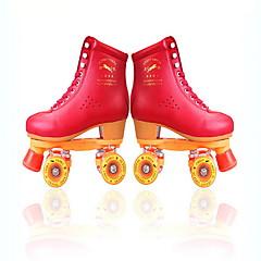 남성용 여성용 롤러 스케이트 반대로 동요 통기성 보호하는 조절 가능 루비