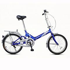 cheap Bikes-Folding Bike Cycling 1 Speed 20 Inch V Brake Ordinary Folding Ordinary / Standard Steel