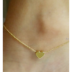 Women's Anklet/Bracelet Alloy Love Sexy European Heart Jewelry For Wedding Party Daily Casual Sports