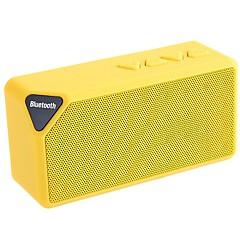 ワイヤレスBluetoothスピーカー 2.0 CH 屋外 / ステレオ / ミニ / メモリカードサポート / サポートFM