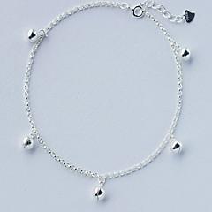 baratos Bijoux de Corps-Tornezeleira - Prata de Lei Fashion Prata Para Diário / Casual / Mulheres