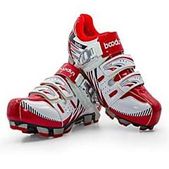 billige Sykkelsko-BOODUN® Mountain Bike-sko Reflekterende, Anti-Skli, Anti-Ryste / Demping Sykling Svart / Rød / Grønn Herre