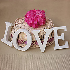 Wooden LOVE letters wedding items Wooden furnishing articles in English letters