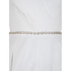 sateng bryllupsfesten / kveld daglig tøy sashes med Rhinestone elegant stil