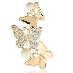 mote kvinne legering butterfly brosje