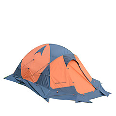 MOBI GARDEN 2 personer Telt Dobbelt camping Tent Ett Rom Turtelt Hold Varm Vanntett Bærbar Vindtett Ultraviolet Motstandsdyktig