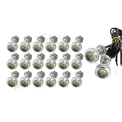 cheap Daytime Running Lights-SO.K 20pcs 1156 Car Light Bulbs W SMD 5630 180lm lm Exterior Lights Foruniversal