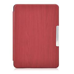nieuwe Kindle 7de generatie lederen tas Smart Cover met slapen en wakker voor Amazon 2014 nieuwe Kindle 6 inch