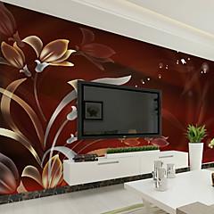 b96459afae1 Květinový secesní motiv 3D Tapety pro domácnost Moderní Wall Krycí