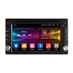 cheap Car DVD Players-6.2 inch 800 x 480 Android6.0 Car DVD Player  for universal DAB 617 MPEG4 CD Mp3 JPEG Mp4 DVD JPG GIF PNG TXT PDF