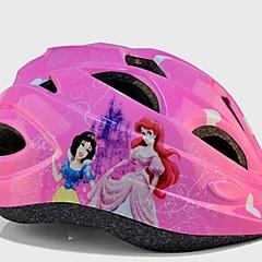 スポーツ 子供用 バイク ヘルメット 11 通気孔 サイクリング サイクリング その他 ワンサイズ EPS ポリ塩化ビニル ピンク