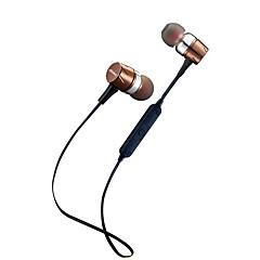 billige Bluetooth-hodetelefoner-F16 I øret Trådløs Hodetelefoner dynamisk Plast Sport og trening øretelefon Med volumkontroll / Med mikrofon Headset