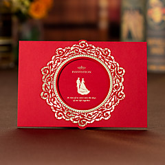 Wrap & Pocket Wedding Invitations 50-Invitation Cards Engagement Party Cards Artistic Style Hard Card Paper
