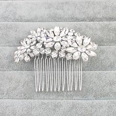 Crystal Hair Combs Headpiece Wedding Party Elegant Feminine Style