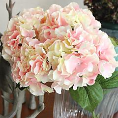 ieftine -1 ramură Mătase Hydrangeas Flori artificiale 48