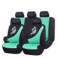 2017新しい車のシートカバーの蝶のプリントピンク、緑、紫ユニバーサル車のカバーシート車のアクセサリーは、布シートカバーメッシュ