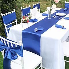 billige Bryllupsdekorasjoner-Unik bryllupsdekor Satin Bryllupsdekorasjoner Jul / Bryllup / jubileum Strand Tema / Hage Tema / Asiatisk Tema Vår / Sommer / Høst
