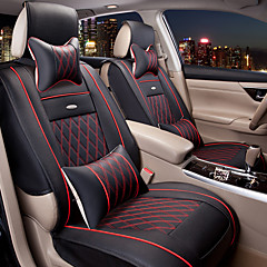 Car Seat Covers Textile PU Leather For Universal