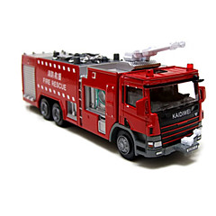 cheap Diecasts & Toy Vehicles-KDW Truck Fire Engine Vehicle Dozer Toy Truck Construction Vehicle Toy Car 1:10 Novelty Kid's Boys' Girls' Toy Gift