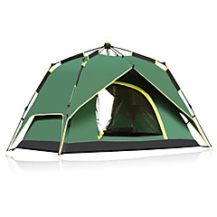 CAMEL 3-4 osoba Šator Dvaput šator za kampiranje Jedna soba Automatski šator Ultraviolet Resistant Otporno na kišu Prozračnosti za