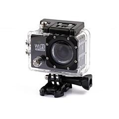 Toimintakamera / Urheilukamera 4608 x 3456 WIFI Vedenkestävä Iskunkestävä 2 CMOS 32 GB H.264 30 M Universaali Matkailu