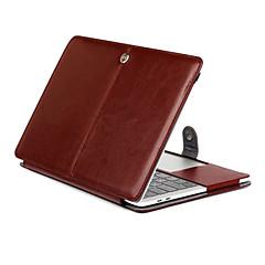 for macbook retina 11,6 13,3 tablett luksus ultra slank magnetisk folio stå Crazy Horse mønster skinnveske deksel
