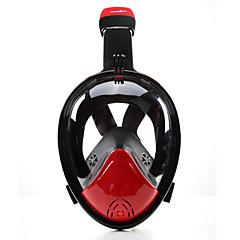 Maske zum Schnorcheln Tauchmasken Anti-Beschlag 180 Grad Auslaufsicher Vollgesichtsmaske Tauchen und Schnorcheln Neopren für Kinder