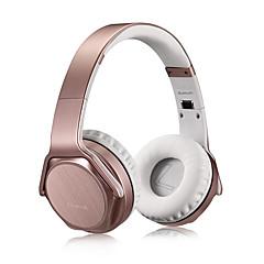 billige Bluetooth-hodetelefoner-HM3 På øret Trådløs Hodetelefoner dynamisk Rustfritt Stål Mobiltelefon øretelefon HIFI Med volumkontroll Med mikrofon Headset