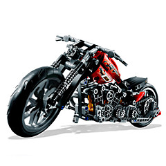 cheap Diecasts & Toy Vehicles-Building Blocks Toy Motorcycles 374pcs Car Moto Novelty Classic & Timeless Motorcycle Boys' Toy Gift