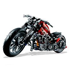 Bausteine Spielzeugautos Motorräder Spielzeuge Auto Motorrad Neuartige Jungen Stücke
