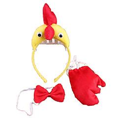 billiga Leksaker och spel-CHENTAO Huvudbonad Kyckling Plysh Unisex Pojkar Flickor Leksaker Present 3 pcs