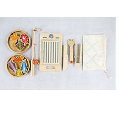 Cooking Appliances Kids Jouets de pêche Jouets Nouveautés Poissons Jouets Bois Classique & Intemporel Pièces Garçon Fille Le Jour des