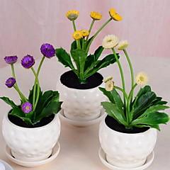 ieftine -1 ramură Plastic Flori artificiale