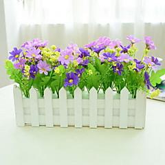 ieftine -1 ramură Plastic Flori artificiale 30