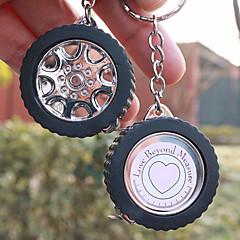 bil hjul design måttband nyckelkedja betare gåvor ® parti giveaways