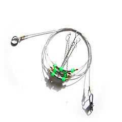 billige Fiskekroker-1 pcs Buet Spiss Generelt fisking Metall