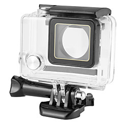 Protective Case Waterproof Housing Case Waterproof 40M Custom Made For Action Camera Gopro 4 Gopro 4 Session Gopro 4 Silver Gopro 4 Black