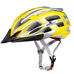 Sportief Unisex Fietsen Helm 24 Luchtopeningen Wielrennen Fietsen Bergracen Wegwielrennen Recreatiewielrennen Wandelen Klimmen PC EPSGeel