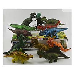 Akční figurky a plyšáci model s displejem Modelování Hračky Zábavné Dinosaurus Plast Duhová